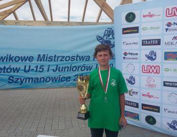 Jakub Nowakowski wicemistrzem Polski