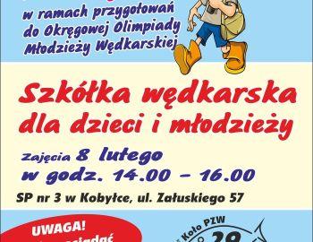 Zajęcia szkółki wędkarskiej 08.02.2020